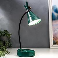 Настольная лампа с диммером 16299/1GR LED 4Вт USB АКБ 3000-6000К зеленый 12,3х12,3х37 см