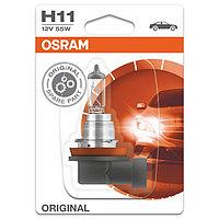 Лампа автомобильная Osram, H11, 12 В, 55 Вт, 64211-01B