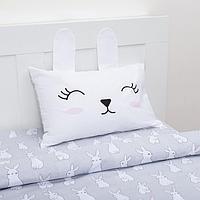 Постельное белье Этель 1,5 сп Cute rabbit 143х215 см, 150х214 см, 50х70 см -1 шт