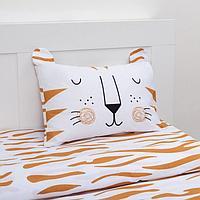 Постельное белье Этель 1,5 сп Sleepy tiger 143х215 см, 150х214 см, 50х70 см -1 шт