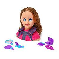 Кукла-манекен для создания причёсок 'Карина' с аксессуарами