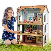 Конструктор 'Кукольный домик София' без мебели и кукол