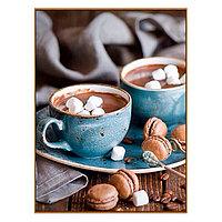 Алмазная мозаика 'Шоколадный восторг', 30 цветов