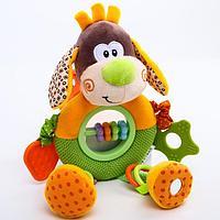 Развивающая игрушка- погремушка 'Веселый щенок'