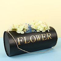 Переноска для цветов 12 х 12 х 27 см (комплект из 3 шт.)