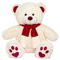 Мягкая игрушка 'Медведь Кельвин', цвет молочный, 90 см