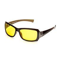 Водительские очки SPG 'Непогода Ночь' luxury, AD050 коричнево-бежевые