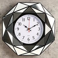 Часы настенные, серия Классика, 'Файзио', 40х40 см, микс