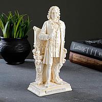 Статуэтка 'Иоганн Себастьян Бах' позолота, 22см