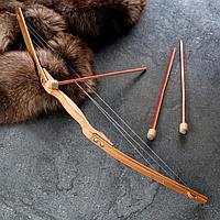 Сувенирное деревянное оружие 'Лук', 80х15 см, массив бука