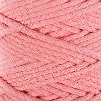 Шнур для вязания 100 хлопок, ширина 5 мм 100м/450гр (персиковый) МИКС
