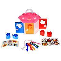 Развивающая игрушка 'Логический домик' с сортером