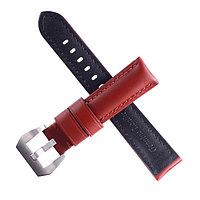 Ремешок для часов 'Bugert' 22 мм, натуральная кожа, l20 см, коричневый, гладкий