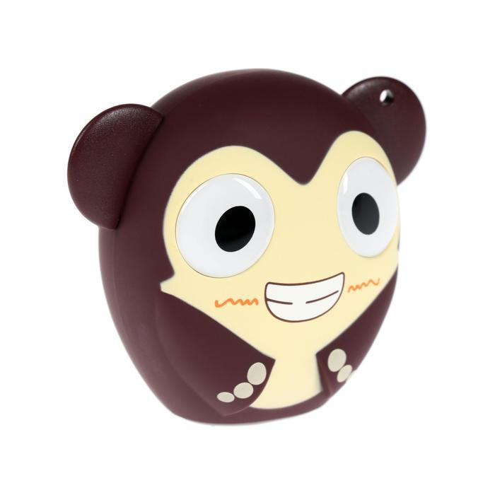 Портативная колонка Hiper ZOO Music Monkey, BT, 3 Вт, Micro-USB, 400 мАч, коричневая - фото 1