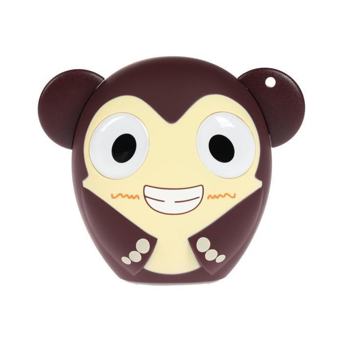 Портативная колонка Hiper ZOO Music Monkey, BT, 3 Вт, Micro-USB, 400 мАч, коричневая - фото 2