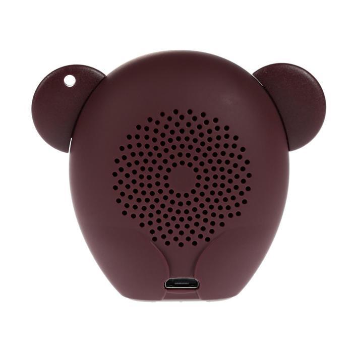 Портативная колонка Hiper ZOO Music Monkey, BT, 3 Вт, Micro-USB, 400 мАч, коричневая - фото 3