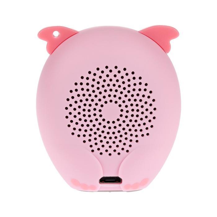 Портативная колонка Hiper ZOO Music Lily, BT, 3 Вт, Micro-USB, 400 мАч, розовая - фото 3