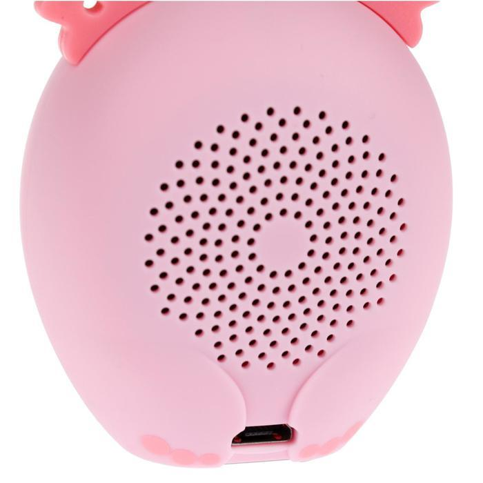 Портативная колонка Hiper ZOO Music Lily, BT, 3 Вт, Micro-USB, 400 мАч, розовая - фото 4
