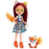 Кукла 'Энчантималс' с любимой зверушкой