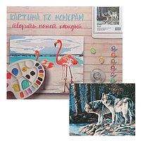 Картина по номерам 'Волки' 40х50 см