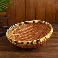 Корзинка бамбук 'Бандунг' 35х35х11 см