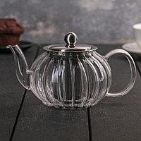 Чайник заварочный 'Диана', с металлическим ситом, 600 мл