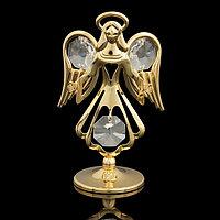 Сувенир 'Ангел', с кристаллами Сваровски, 7,5 см