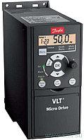 Преобразователь частоты Danfoss VLT Micro Drive 132F0026 - 4 кВт; 3x380В 9.0 А