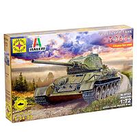 Сборная модель 'Советский танк Т-34-85' (172)