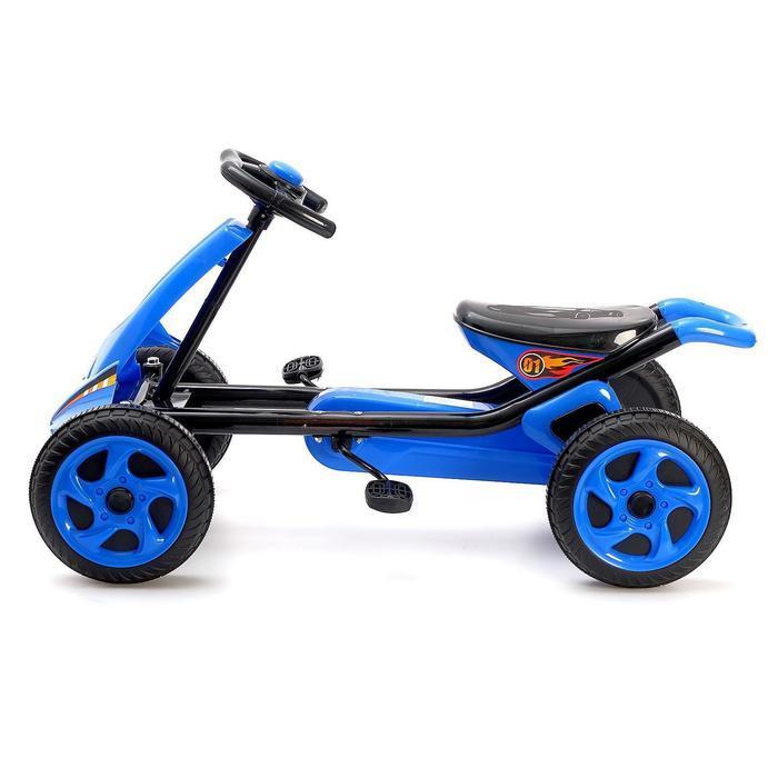 Веломобиль DRIFT, цвет синий - фото 2