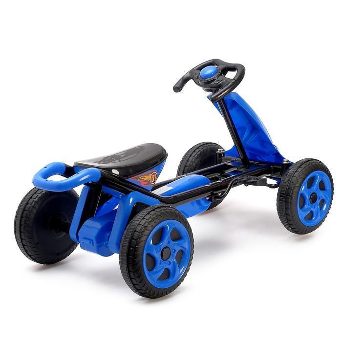 Веломобиль DRIFT, цвет синий - фото 3