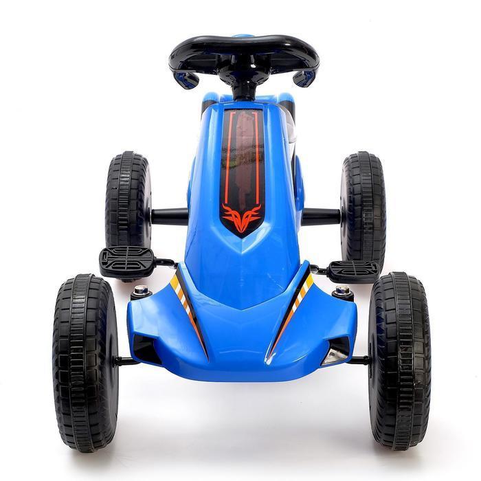 Веломобиль DRIFT, цвет синий - фото 4