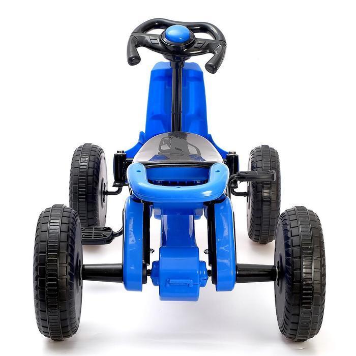 Веломобиль DRIFT, цвет синий - фото 5