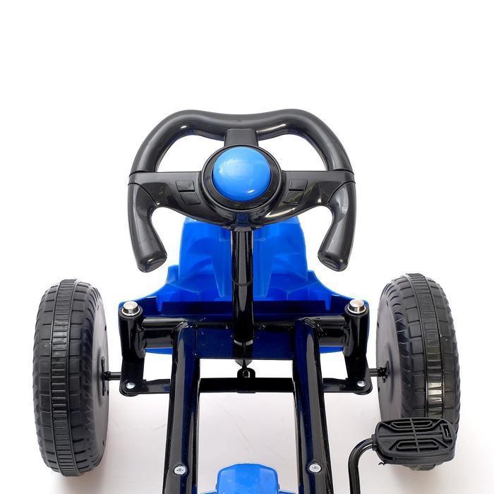 Веломобиль DRIFT, цвет синий - фото 6