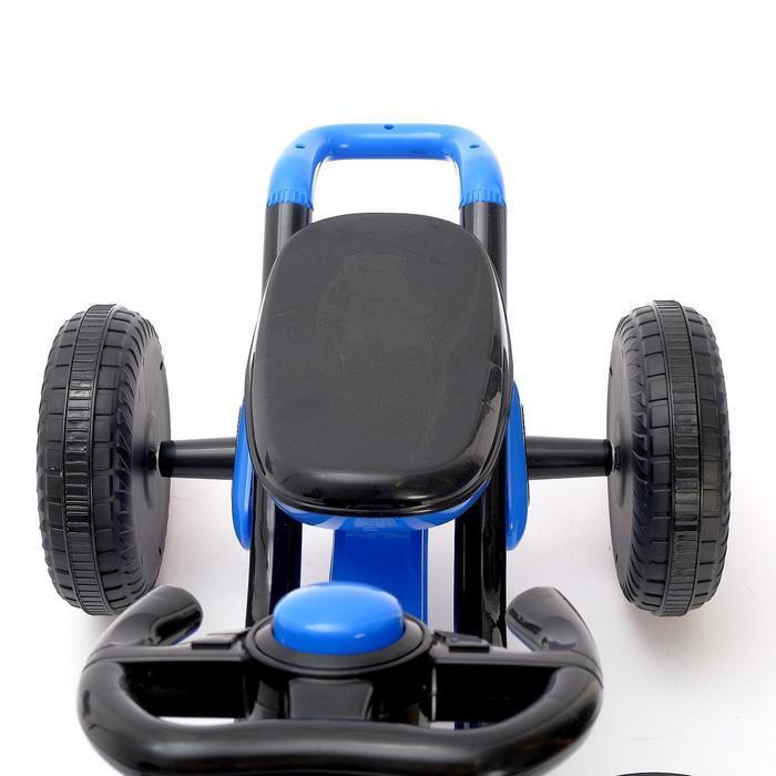 Веломобиль DRIFT, цвет синий - фото 7