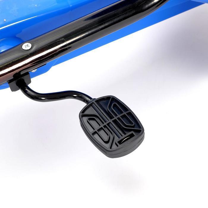 Веломобиль DRIFT, цвет синий - фото 8