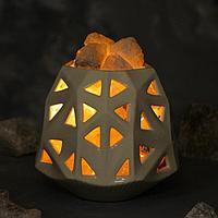 Соляная лампа 'Оригами'