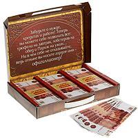 Деньги для выкупа 'Офигиллион рублей', чемодан, 25,8 х 17,1 см