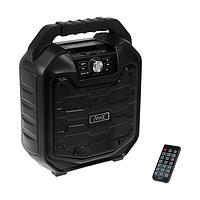 Портативная караоке система MAX MR380, 15ВТ, FM, AUX, micro SD, USB, BT, Li-Ion 2000 мАч
