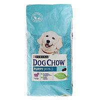 Сухой корм DOG CHOW PUPPY для щенков, ягненок, 14 кг