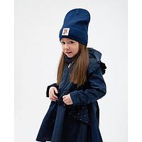 Плащ для девочки, цвет синий, рост 104 см