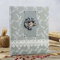Фотоальбом на 100 фото 13х18 см 'Фелиция' текстиль 32,5х27,5х4 см