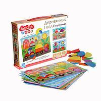 Пазл деревянный Baby Toys, 35 элементов