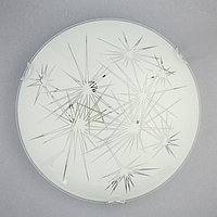Светильник настенно-потолочный 'Искры' 1x60Вт E27 д.25см.