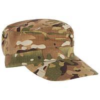 Кепка охотника летняя, цвет мультикам, ткань смесовая Рип-Стоп, размер 58-60
