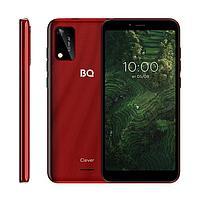 Смартфон BQ S-5745L Clever, 5.7', IPS, 1Гб, 32Гб, 5 Мп, 2700 мАч, красный