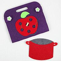 Сумка-игралка 'Овощи, фрукты и ягоды'