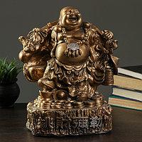 Фигура 'Хотей большой' бронза 30х20х37см