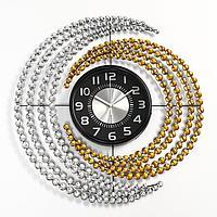 Часы настенные, серия Ажур, 'Нинбург', плавный ход, 57 х 57 см, d циферблата22 см
