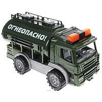 Военная спецтехника 'Цистерна 'Огнеопасно'